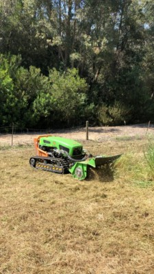 mowing level