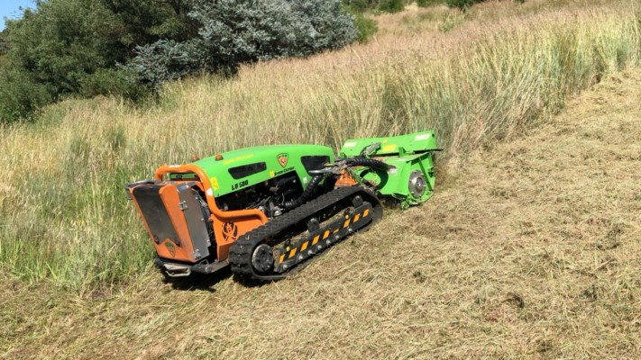 slope mowing uphill 2 of 2